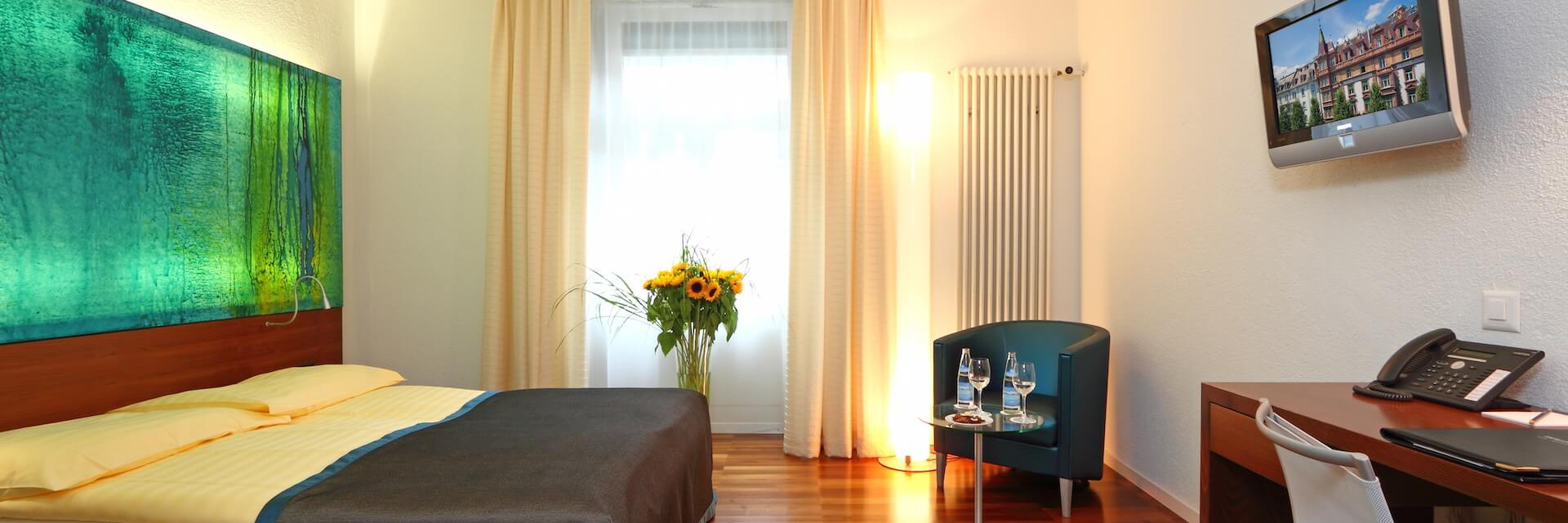 Rooms And Suites At Hotel Waldstätterhof Lucerne.